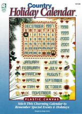 Plastic Canvas Pattern Holiday Calendar