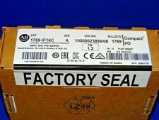 2020 FACTORY SEALED Allen Bradley 1769-IF16C /A Analog Input Module CompactLogix
