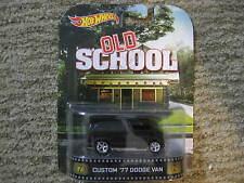 Hot Wheels Retro Entertainment Old School - Custom '77 Dodge Van