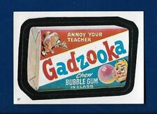 1982 Topps Wacky Packages #27 Gadzooka (NM) Album Sticker