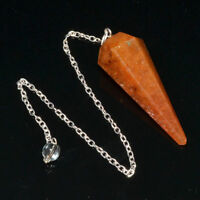 40-50 MM Natural Red Aventurine Healing Chakra Healing Dowsing Pendulum