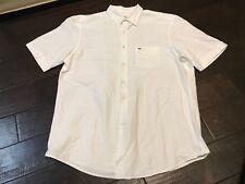Lacoste Regular Fit Button Up Pocket Dress Shirt - Size 44