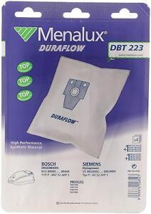 Menalux DBT223 - 5 Sacs pour aspirateur BOSCH SIEMENS PRIVILEG