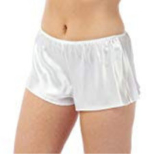 Satin Boxer Style French Knickers by BHS Cream White 8 10 12 14 16 18 20 22