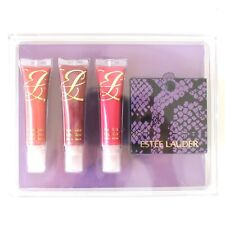 Estee Lauder Pure Color High Gloss Lipstick Set w/ Mirror NEW!