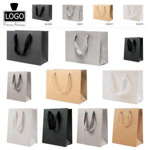 Landscape/Portrait Eco Kraft Paper Gift Bags (Various Sizes & Colours)