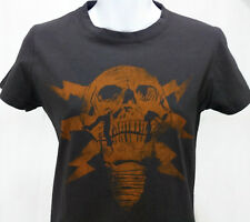 Jinx Battlefield 4 T-Shirt Women Size Medium Video Game Lightning Skull Gray Tee