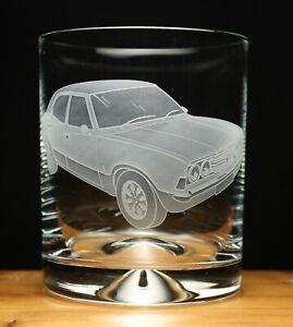 Ford Cortina MKIII MK3 Classic engraved glass tumbler gift present