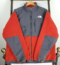 VTG THE NORTH FACE Large Denali Mens Full-Zip Red Fleece Jacket Coat Vintage EUC