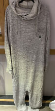 ONEPIECE JERSEY ALL IN ONE SLOUCH WEAR SIZE LARGE ZIP UP POCKETS HOODED MEN