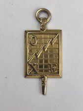 VINTAGE  10 K GOLD  ENGRAVED CHI OMEGA EPSILON ALPHA SORORITY Pendant Charm