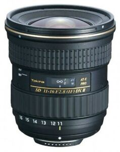 Tokina Wide Lens AT-X 116 PRO DX II 11-16mm F2.8 for Canon Fast Ship Japan EMS