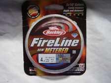 Berkley FireLine Metered 4-100 Fishing Line, Marked 4lb 100yd Spool New