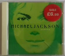 Michael Jackson - Invincible (2001) CD Album Green