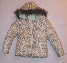 Girls Next hooded Quilted fine fleece lined Jacket 7-8 Yrs