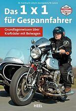 Das 1x1 für Gespannfahrer Grundlagenwissen Krafträder Beiwagen Motorräder Buch