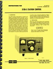 Collins 312B-5 312B-4 Station Control OWNER'S MANUAL