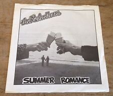 THE RELATIONS summer romance*one more record 1980 UK/FR SKELETON POWERPOP PS 45