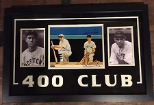 TED WILLIAMS BILL TERRY RON LEWIS SIGNED AUTOGRAPH PRINT 8X10 PHOTO Framed Auto