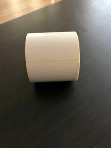 Large Blank Sticky Address Labels Postage Parcel Stickers Return Label 80 x 40mm