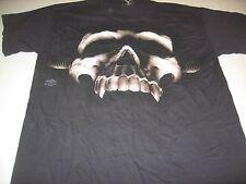 Vampire Skull T-Shirt by SkulBone size Medium