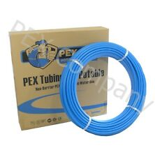 "BLUE 1/2"" x 300 ft PEX Tubing Plumbing Pipe Piping Drinking Potable Water NEW"