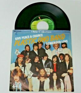 Plastic ono Band - Give peace a chance - Remember Love - Single 7''