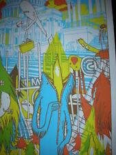 Tyler Stout Talkdemonic Winter Tour Poster Silkscreen Print 2007
