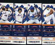 2017 New York Mets vs Cincinnati Reds 4 unused tickets September 7, 8, 9, 10