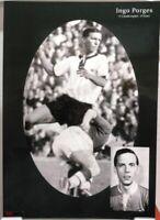 Ingo Porges + Fußball Nationalspieler DFB + Fan Big Card Edition B910