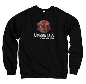 Herren Sweater Pullover Umbrella Corporation Resident Game Play Evil UC18520SW