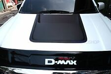 BONNET SCOOP VENT MATTE BLACK COVER FOR ISUZU D-MAX DMAX 2012 13 14 15 16 TRUCK