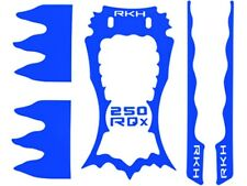 CLOSEOUT Rakon Sticker Skin for RKH 250 Quad-X CNC Kit (Blue) 250RQXSK-B
