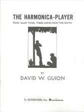 Harmonica Player Piano Solo Sheet Music 1926 Guion Alley Tunes