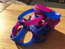 Fibromyalgia Awareness Silicone Wristband