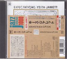 KEITH JARRETT - expectations CD japan edition