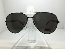 NEW CARRERA SUNGLASSES 8010/S 003M9 MATTE BLACK/GRAY POLARIZED LENS
