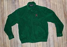 Vintage Polo Golf Ralph Lauren Green Jacket Mens SMALL Corduroy  Crest