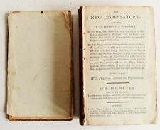1799 THE NEW DISPENSATORY 6th ed W Lewis front board detached otherwise VGC