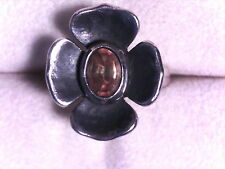 JAMES AVERY CITRINE FLOWER RING, .925 SIZE 8.5, RETIRED, RARE!!! (17802673)