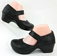 Dansko 'Harlow' Mary Jane Shoes Black Leather EU 37 / US 6.5-7