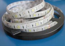 5M RGBW  RGB + White 5050 LED strip Light IP65 DC12V SMD 60Leds/M 300 LEDS Flexi