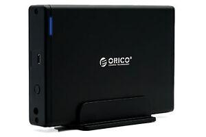 "Externe Festplatte Orico 2TB 3,5"" USB C HDD für PC Mac Laptop Ps4/5 xBox NEW"