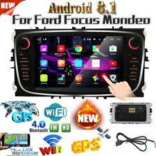 Android 8.1 Radio de coche 7 '' GPS Bluetooth Para Ford Focus Mondeo C-MAX S-MAX