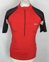 VINTAGE MOVEXX MENS CYCLING JERSEY TOP SIZE LARGE RED