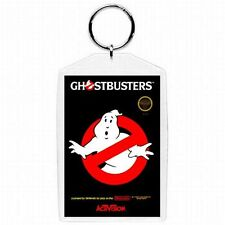 Nintendo Nes GHOSTBUSTERS Game Black Box Cover Keychain New #1
