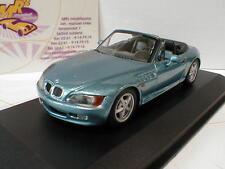 MAXI Champs 940024331-BMW z3 Coupe anno di costruzione 1997 in blu chiaro metallizzato 1:43