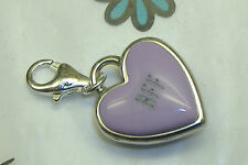 Brighton BFF best friend light purple heart candy clasp lobster claw charm NEW