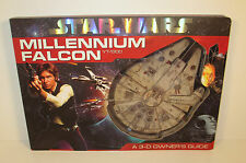 """2010 Millenium Falcon 15.5"""" 3-D Owner's Guide Book Dissect Each Level Star Wars"""
