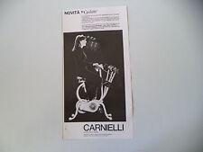 advertising Pubblicità 1967 CYCLETTE CARNIELLI